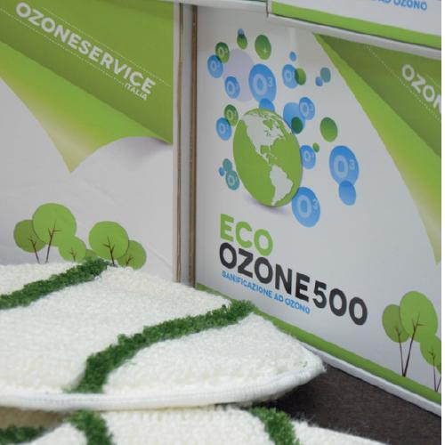 Sanificazione all'ozono finale