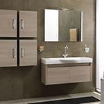Spolveratura mobile bagno + pulizia vetri e finestre + lavaggio interno esterno porta